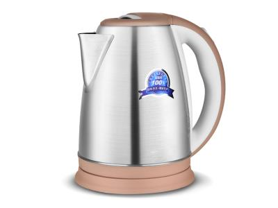 Special Stainless Steel Kettle Design with Colored Plastic Material