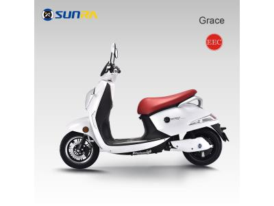 original manufacturer Sunra electric scooter 2 li batteries electric motorcycle adult 2 wheel escoot