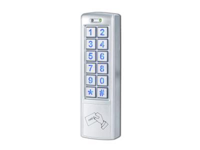Mini metal access control card access code access 2 reply output