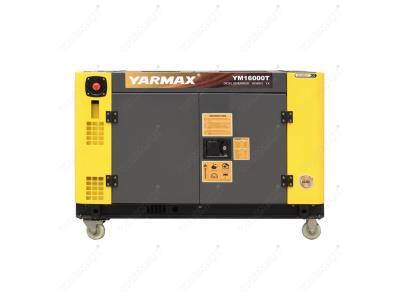 Yarmax 10kva, 12kva, 15kva Double Cylinder Silent Type Diesel Generator