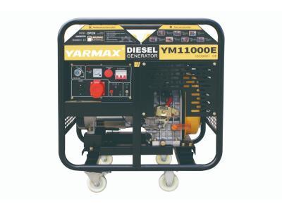 Yarmax 10kva, 12kva, 15kva Double Cylinder Open Type Diesel Generator