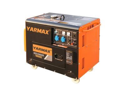 Yarmax 3KW, 5KW, 6KW, 7KW, 8KW  Silent Type Diesel Generator