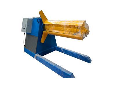 decoiler leveler machine sheet metal decoiler in coils of 5 tons