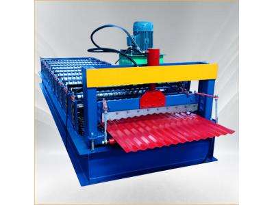 corrugated iron sheet making aluzinc roll forming machine