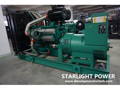 375kVA Water-Cooled Ricardo Engine Diesel Generator Set with Ce/ISO Approval