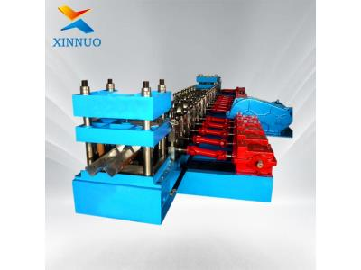 highway guardrail machine end wing manufacturing cold roll forming machine