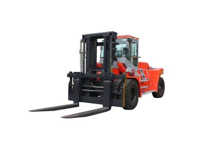 25 Ton Diesel Heavy Forklift Truck Color Red New Style