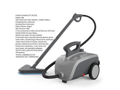 STEAM CLEANER AND STEAM - VACCUM 2 IN 1 MOP