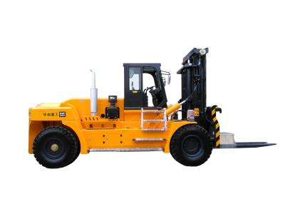 25 Ton Diesel Heavy Forklift Truck Color Red