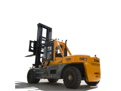30 Ton Diesel Heavy Forklift Truck Color Yellow OEM