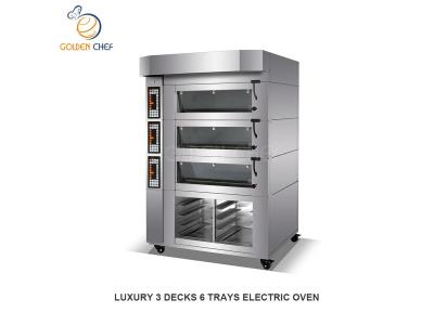 LUXURY ELECTRIC DECK OVEN (DIGITAL CONTROL PANEL) / OVEN PRICES / GAS OVEN / HORNOS