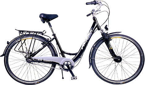 700C INNER 7-SPEED - leisure bicycle