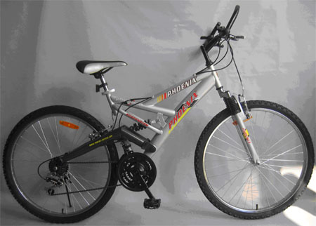 BS006 - 26�� full suspension 18sp MTB