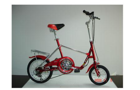 SPM-727 - 1 second folding bike