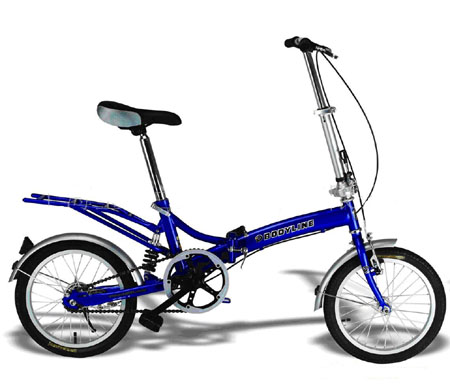 SPM721 - 12inch �� Mini-Folding bike