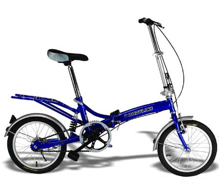 SPM721 - 12inch �� Mini-Folding bike