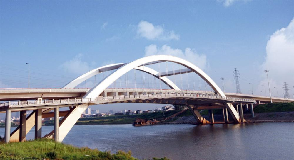 Mars North Road, Liuyang River Bridge