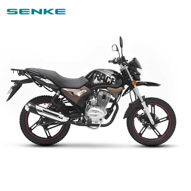2020 SENKE MOTORCYCLE new black STREET FIGHTER SK150-9