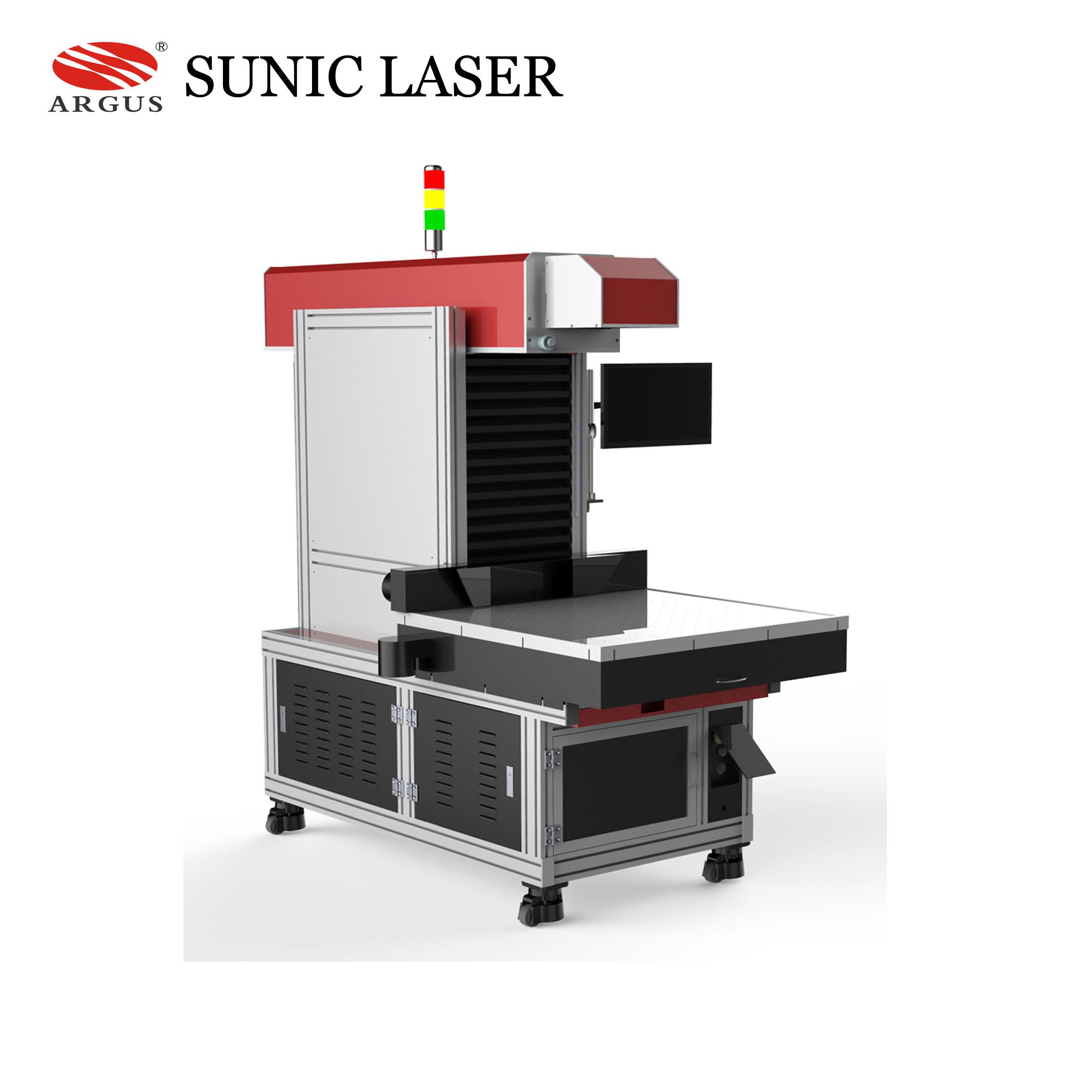 Galvo Laser Leather CO2 Laser Marking Machine