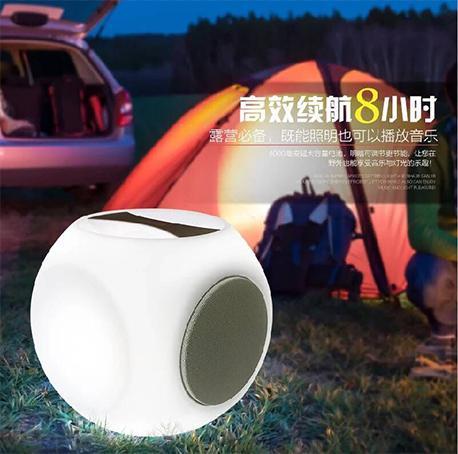 Portable LED bluetooth speaker