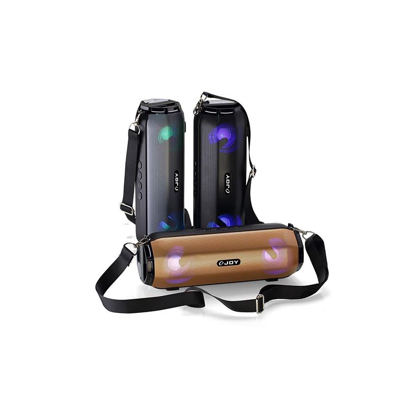 falsh LED light mini soundbar speaker