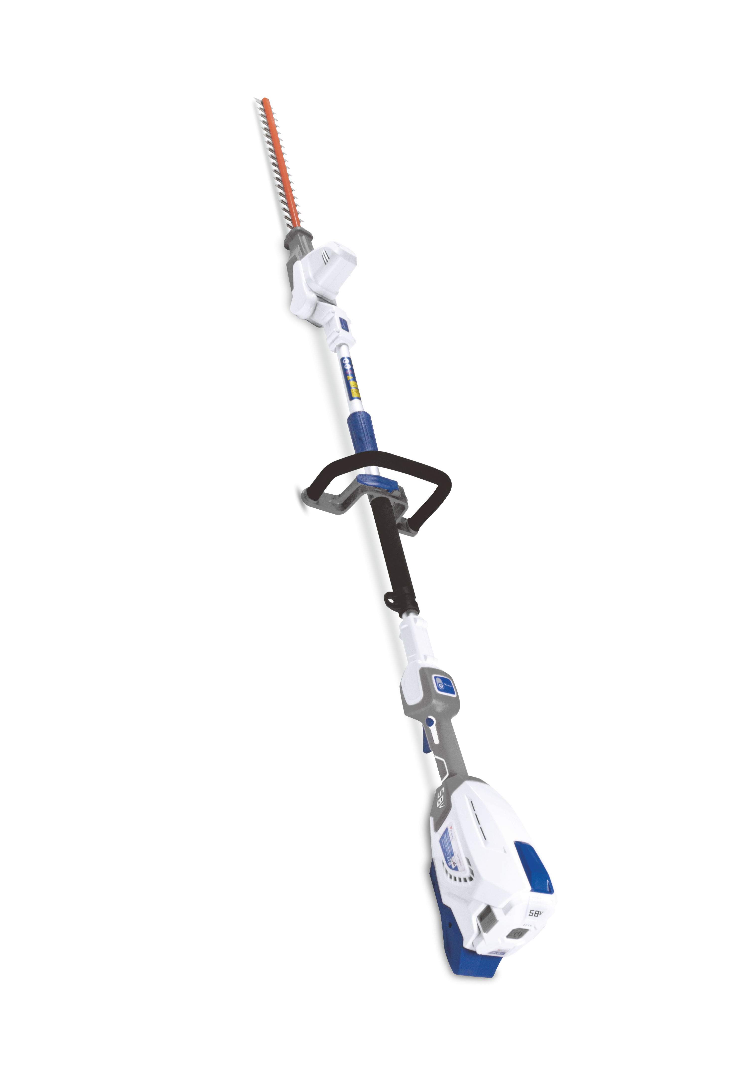 ZOMAX ZMDP552 58V CORDLESS POLE HEDGE TRIMMER