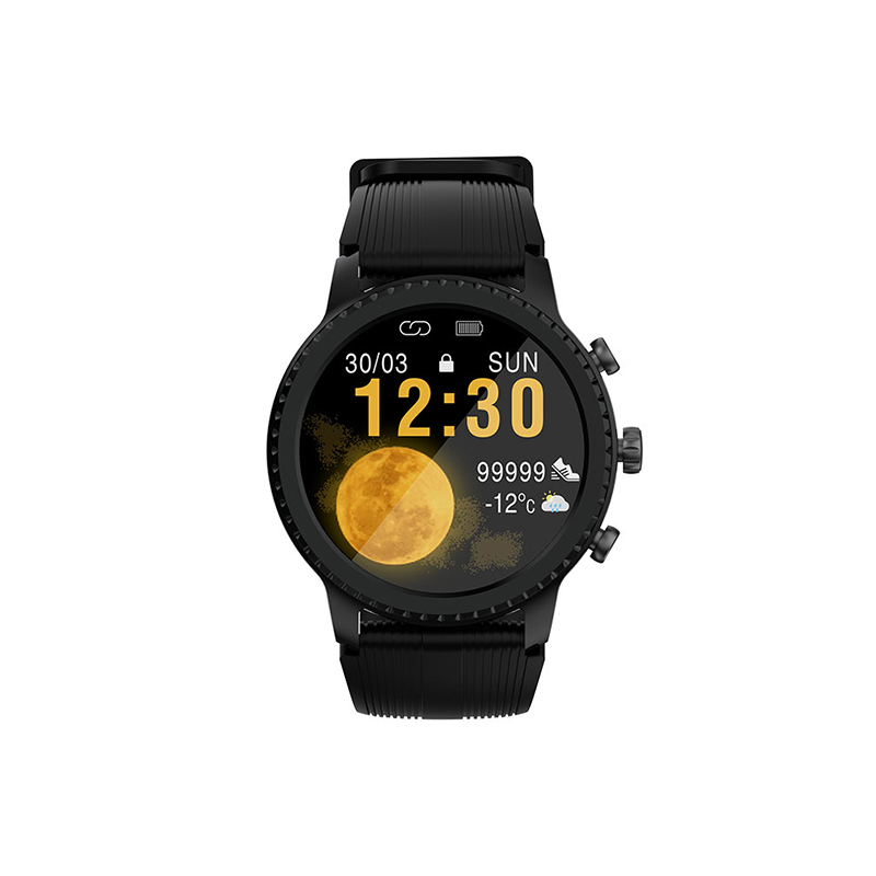 Havit M9005W Latest full-touch screen Smart watch QI wireless charge Sport water-proof 5ATM Watch Metal