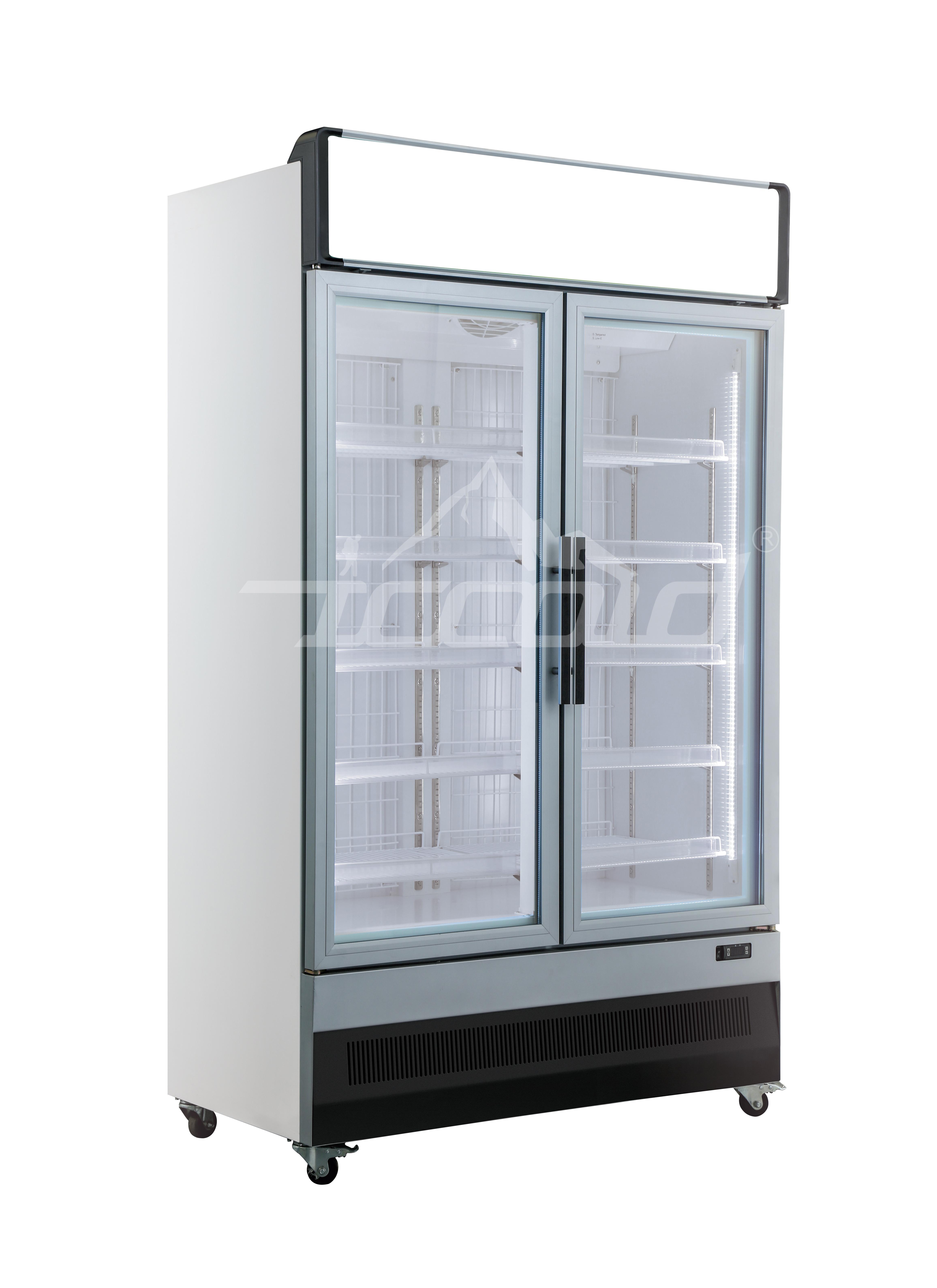 Vertical freezer 2door