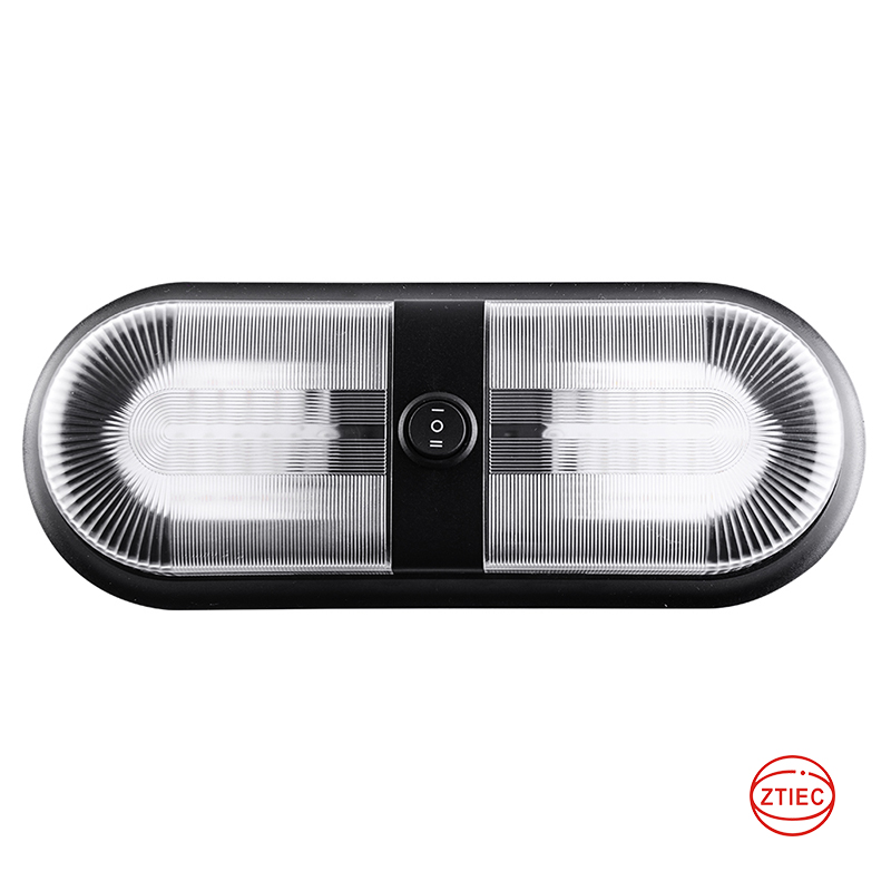 12-24V RV Dome Light LED  Double