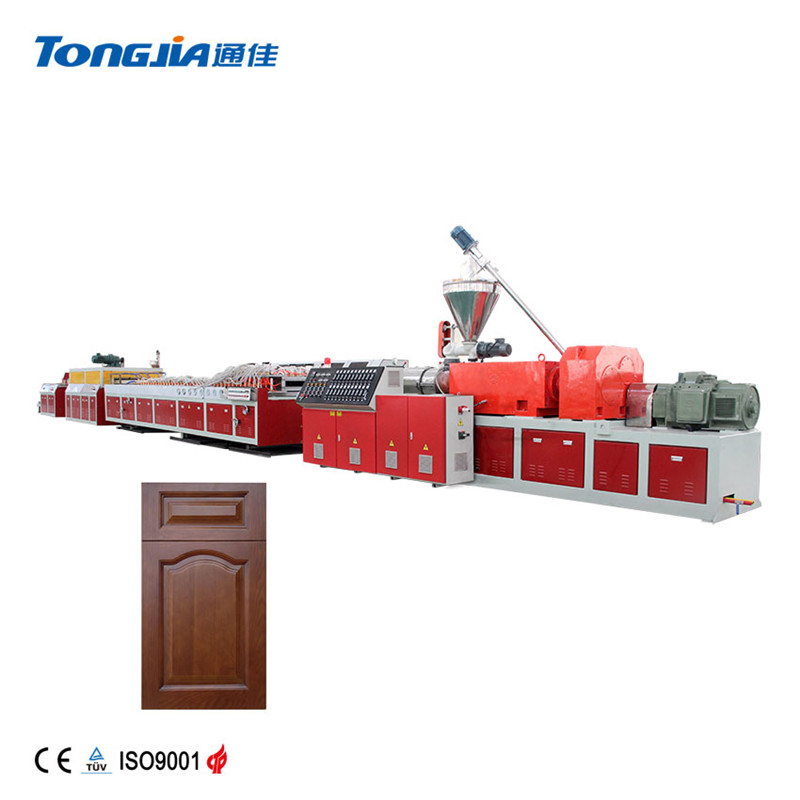 PVC Wood Plastic Foamed Composite Door-panel Production Line