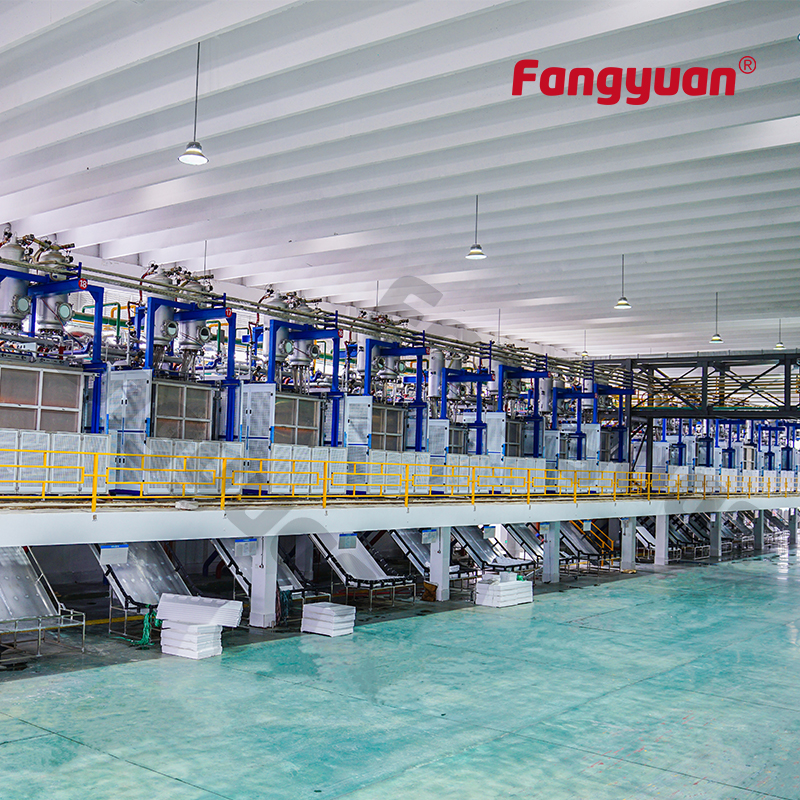 Fangyuan fully automatic fast mould change eps foam plastic thermocol plate making machine for styro