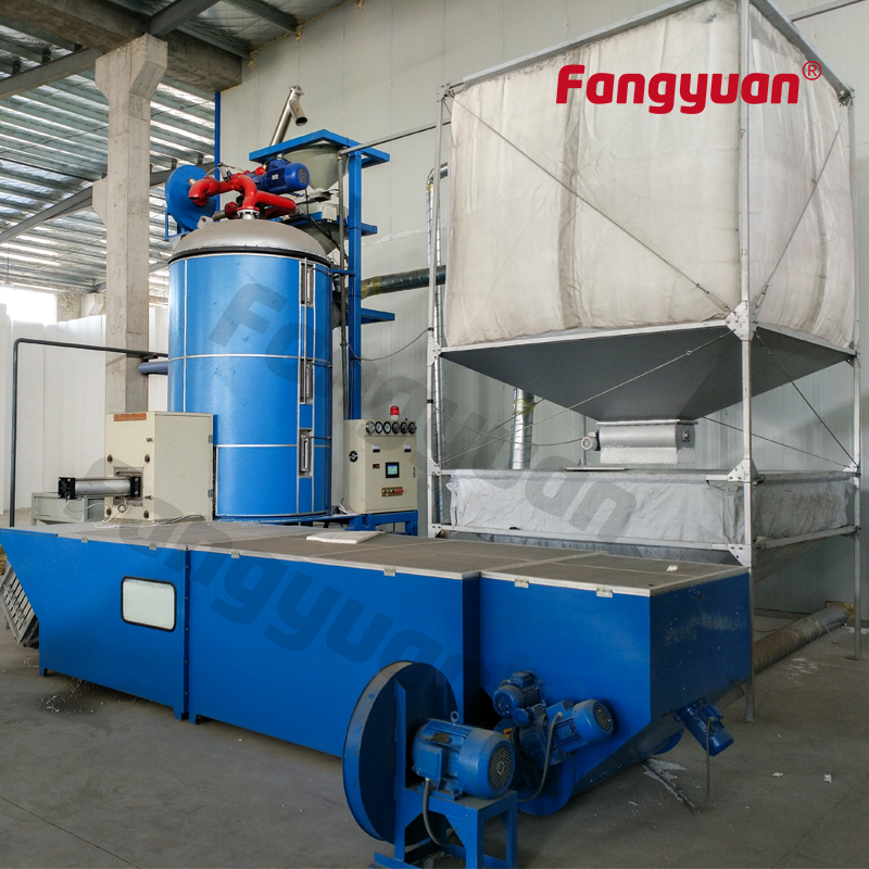 Fangyuan hot sale eps  Styrofoam batch expander foaming machine