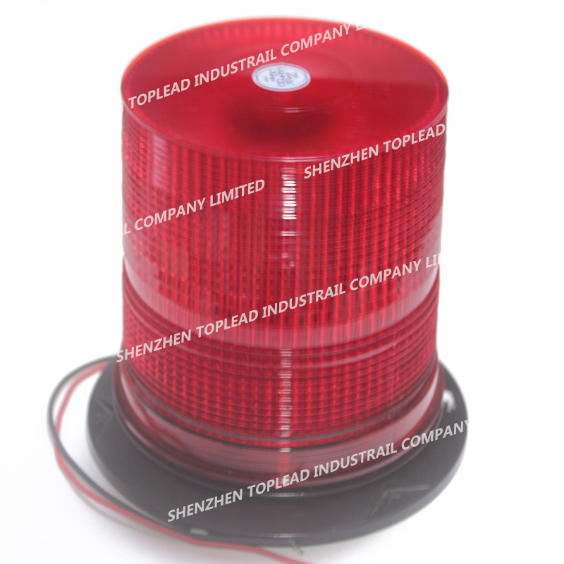 Super Bright DC12-48V  SMD LED Double Flash rotary emergency Beacon   Xenon Spiral bulbs strobe flas