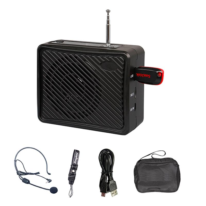 Waistband PA amplifier