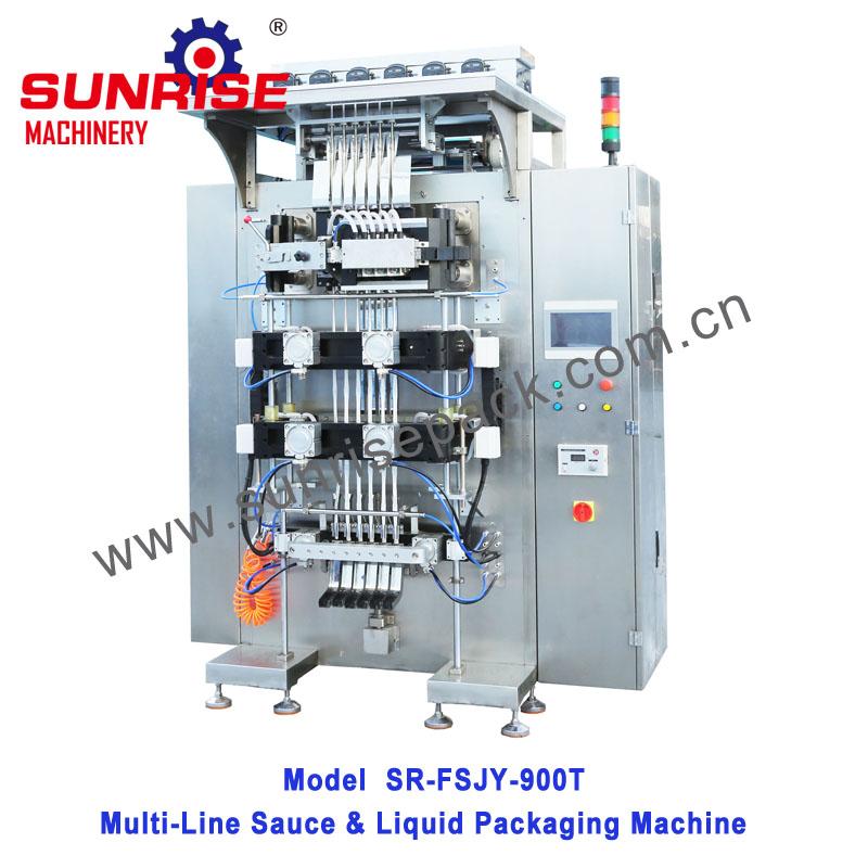 Automatic Sauce Multi-line Packing Machine