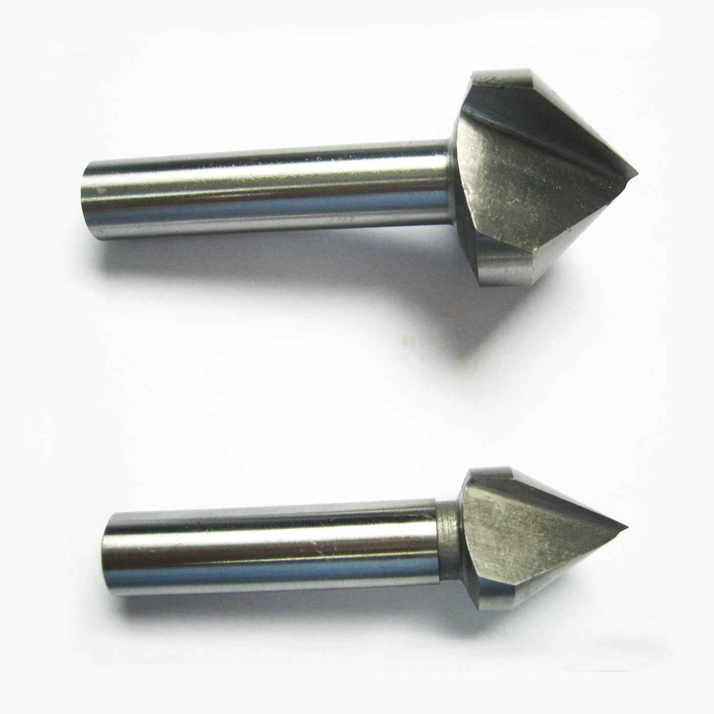 Countersinks with parallel shank  single flute
