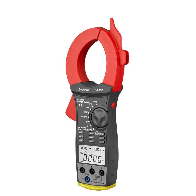 power factor clamp meter, digital clamp meter HP-850F
