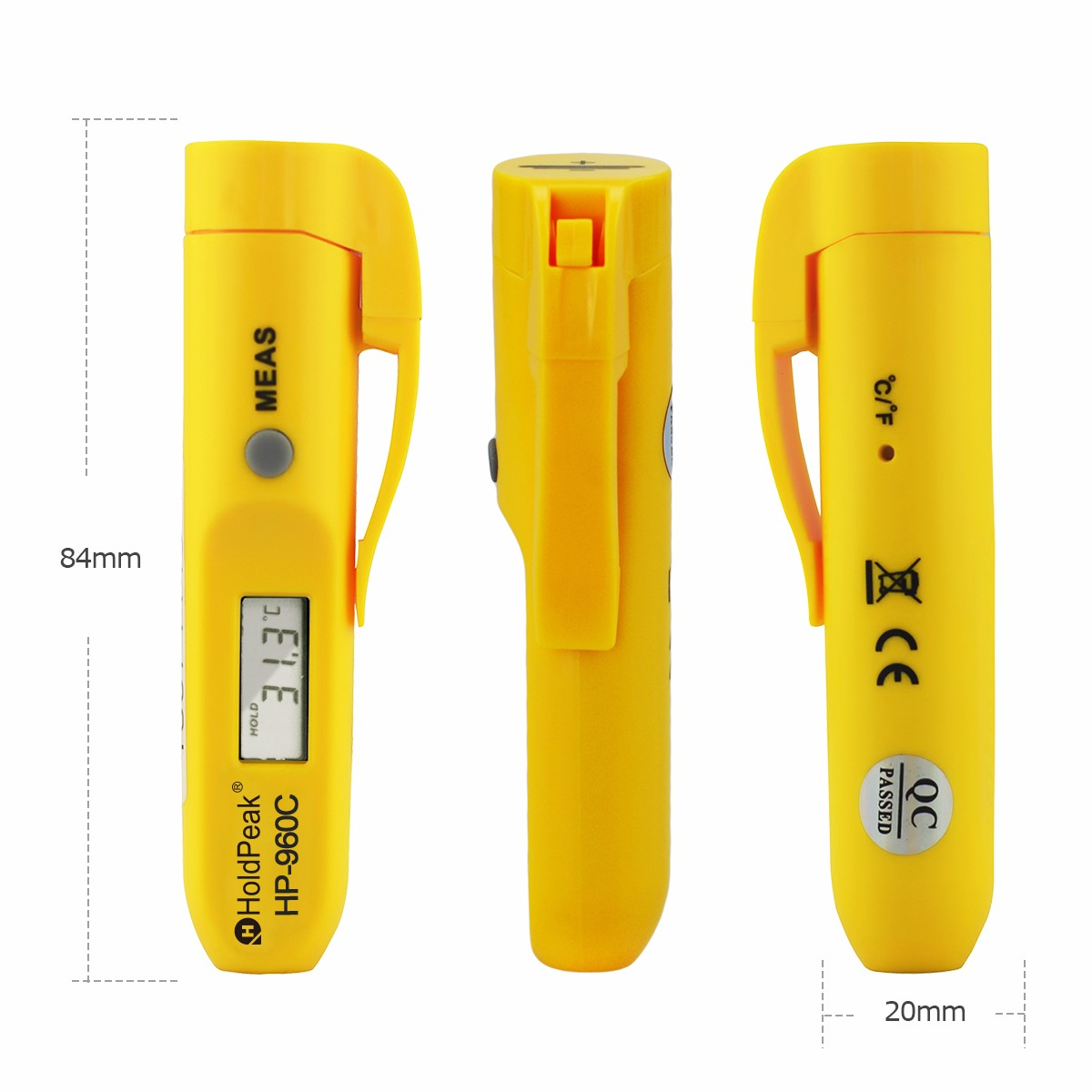 Pen Type Portable Handheld Digital Infrared Thermometer -30℃~275℃ Non Contact Laser