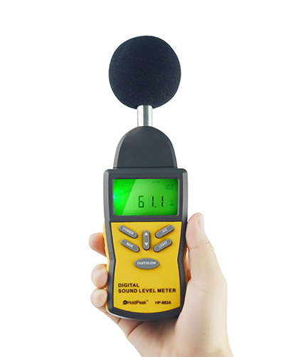 Digital Sound Level Meter HP-882A Sound Level Test Meter LCD Noise Meter
