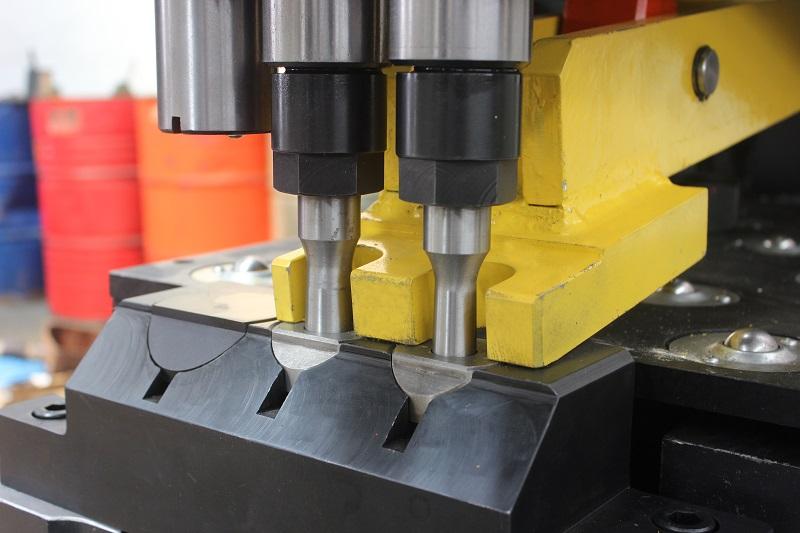 TPPD103 CNC HYDRAULIC PLATE PUNCHING MARKING & DRILLING MACHINE
