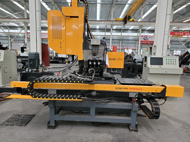 TPPRHD103 CNC HIGH SPEED DRILLING PUNCHING & DISK MARKING MACHINE