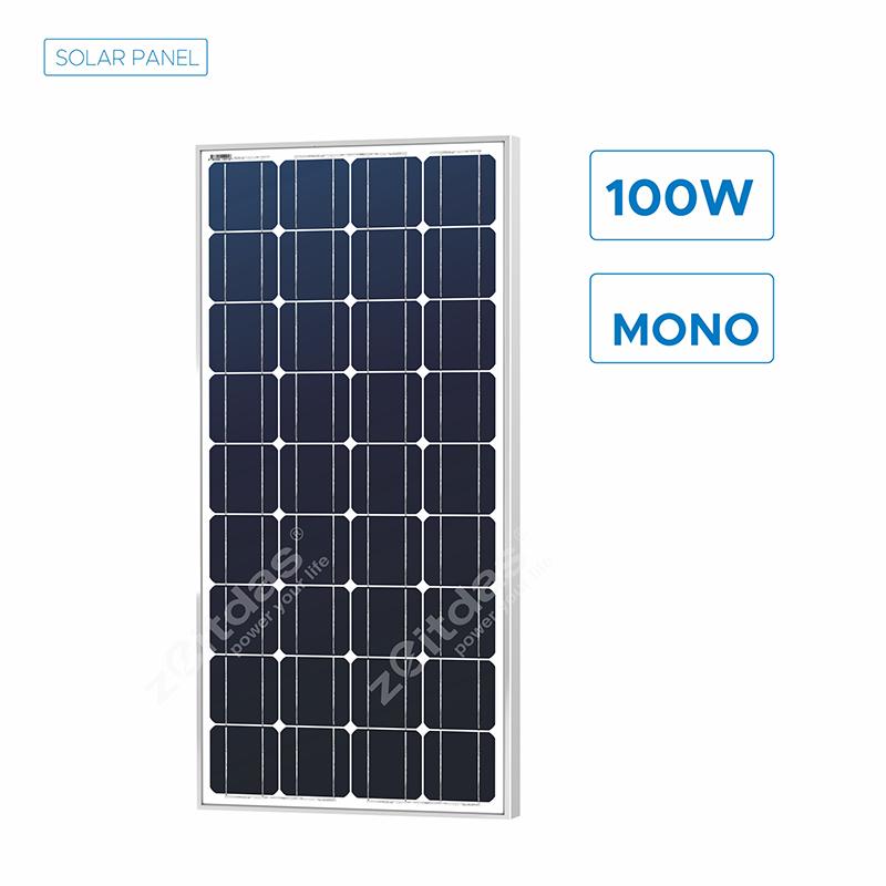 100W Off-grid Solar Panel