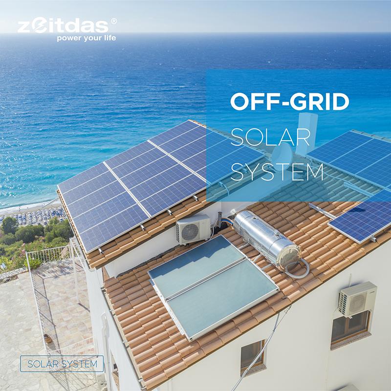 3kW-30kW Off-Grid Solar System