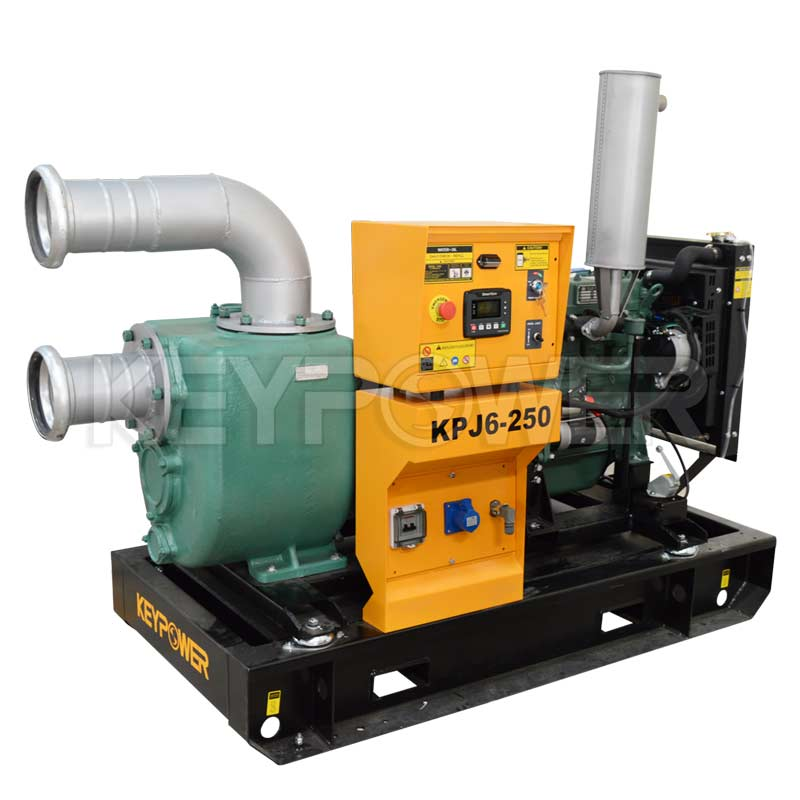 Keypower 6 Centrifugal Self-Priming Dewatering Diesel Pump Set To Australia