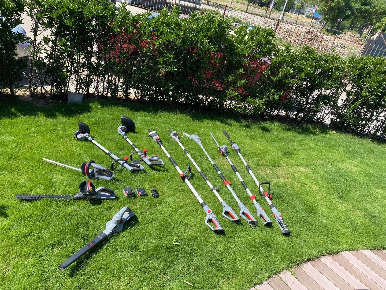 Long handle chain saws