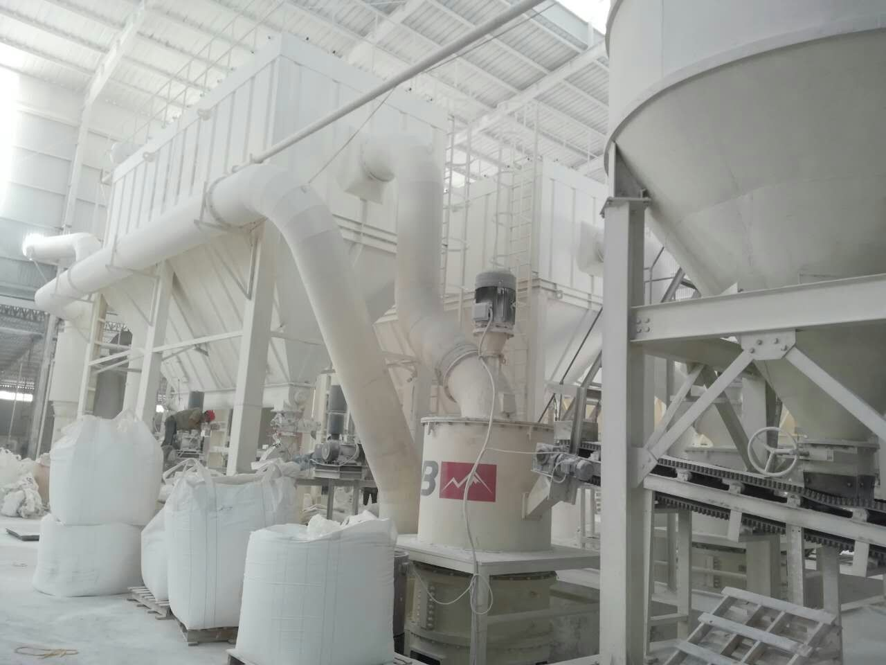Magnesium Oxide grinding mill