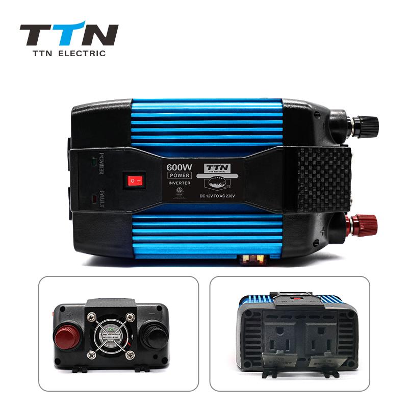TTN 12V 24V 48V Modify Sine Wave Power Inverter 1500W