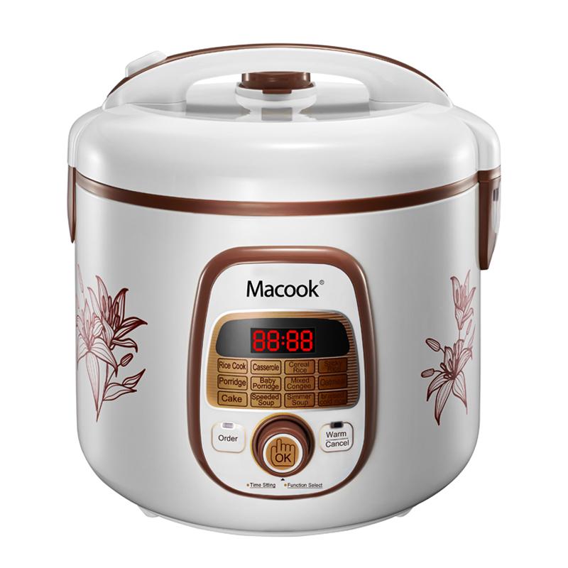 Digital deluxe rice cooker