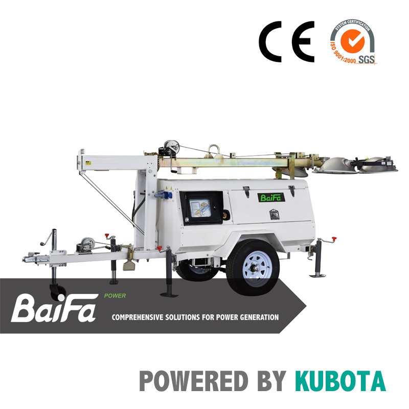 BAIFA-KUBOTA series lighting tower