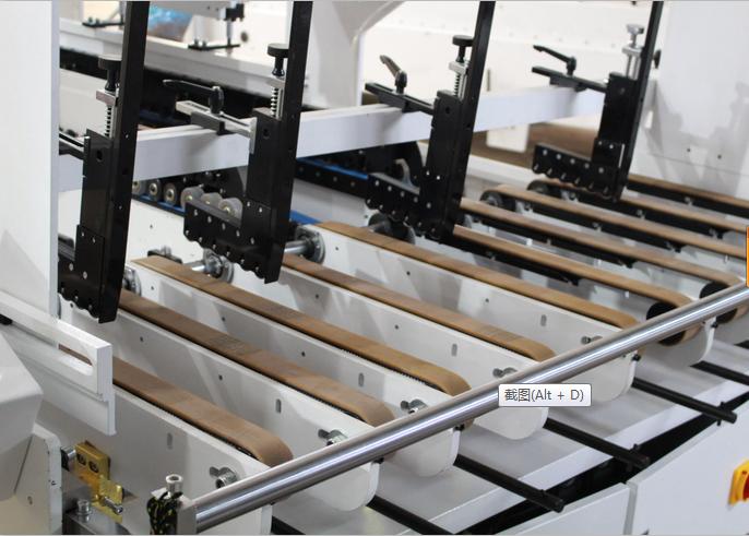 SHH-E Automatic Carton Box Folding Gluing Machine